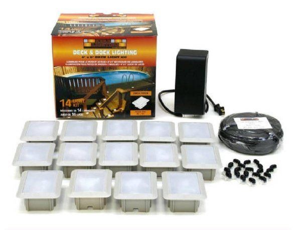 On Sale 6/29/2015-199.00 / Plus S/H (Limited Time) Deck and Dock 14 Light Kit -  Regular low price - $226.00 Plus S/H | Kerr Lighting http://paverlightinternational.com/products/deck-and-dock-14-light-kit