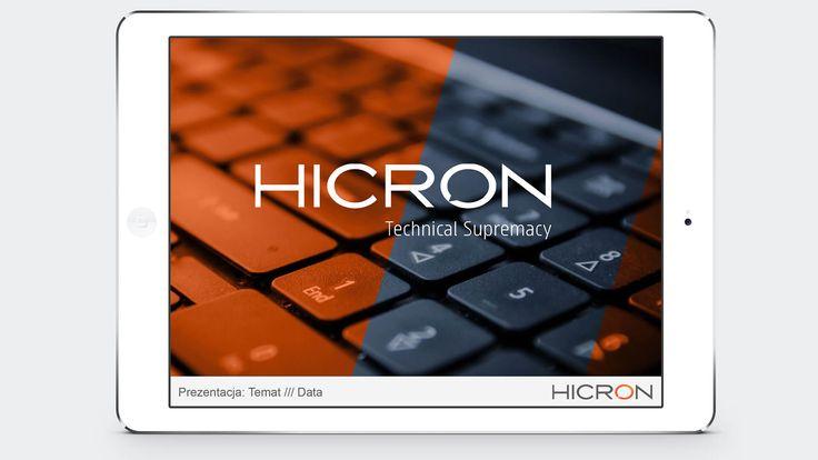 Prezentacja Hicron. #reklama #marketing #prezentacja
