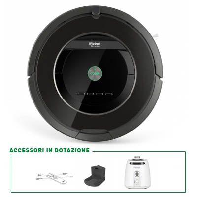 Roomba | ROOMBA 880 Modello 2014 Il miglior robot per le pulizie di casa.