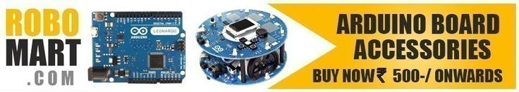 Are you looking for Arduino Boards, Arduino Books, Arduino Accessories, Arduino Shield, Project Starter Kit for Arduino and more Arduino Products? Then you are at the right place. You can easily buy these products online from our ROBOMART Online Robotics Store. Arduino board and accessories is easily accessible to all users whether online or directly.