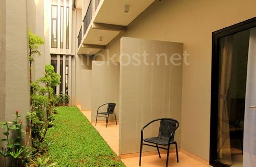 AntenesidjiTEN Residence's private terrace