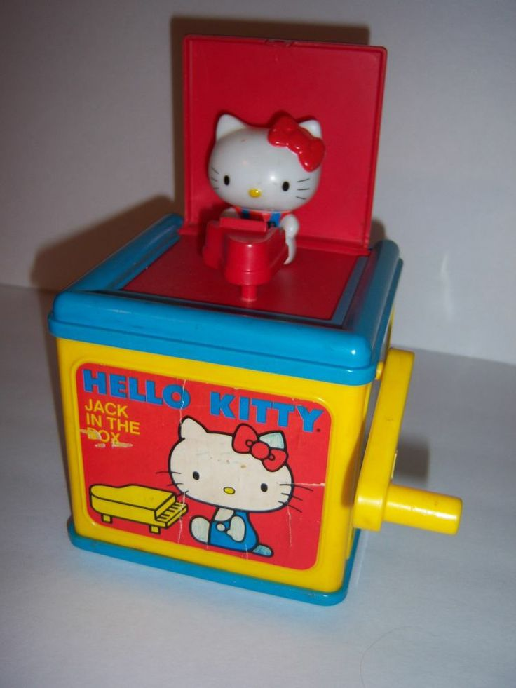 Vintage Hello Kitty Musical Jack in the Box & 100 best JACK IN THE BOX images on Pinterest | Jack in the box ... Aboutintivar.Com
