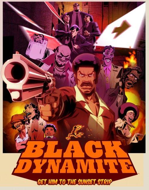 Black Dynamite Cartoon Characters | Black Dynamite Cartoon