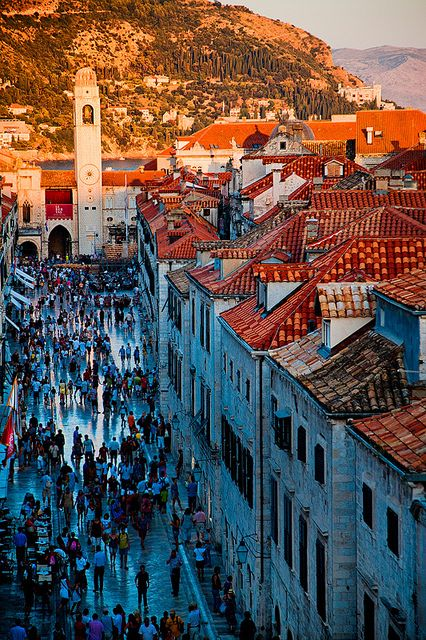 Croatia - Dubrovnik  When you're here, it's like you walked through a timewarp to medieval times! Very cool place and wonderful people!!