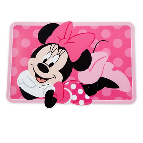 This Minnie Mouse Placemat Will Make A Nice Tablescape