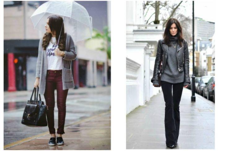 7 maneiras de usar looks em dias de chuva sem galochas!
