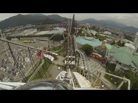 Fujiyama Roller Coaster POV Front Seat & Back Seat Fuji-Q Highland Japan フジヤマ - http://rollercoasterhq.net/fujiyama-roller-coaster-pov-front-seat-back-seat-fuji-q-highland-japan-%e3%83%95%e3%82%b8%e3%83%a4%e3%83%9e/