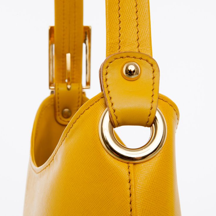 Tara - Mustard Lizard Shoulder Bag