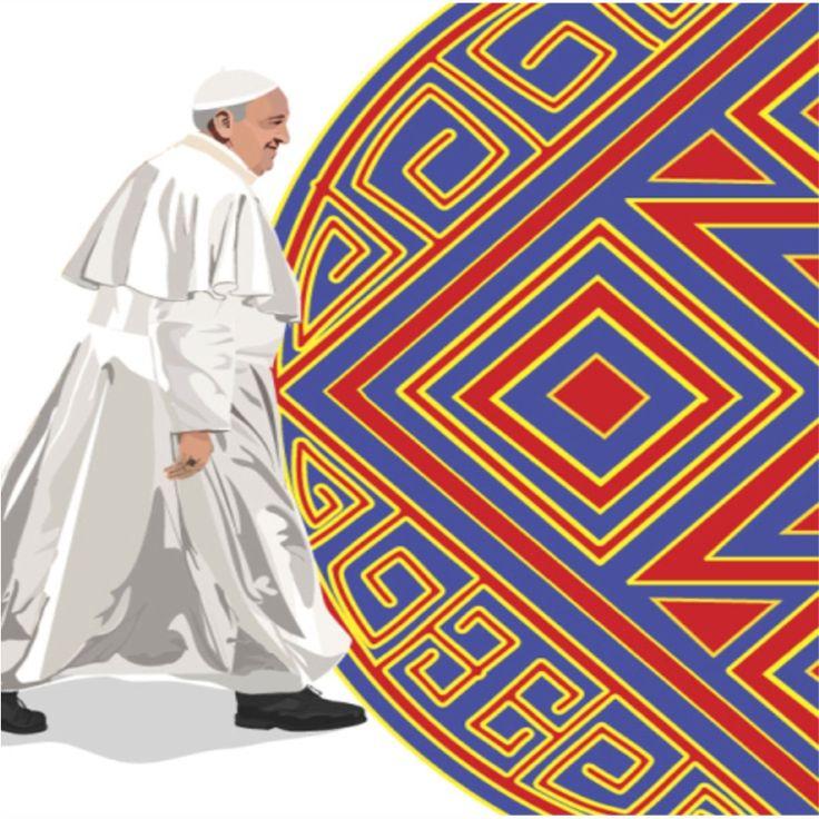 No nos dejemos robar la Alegría y la Esperanza, es el mensaje de nuestro Papa Amén #ElPapaEnColombia #PapaFrancisco #DemosElPrimerPaso