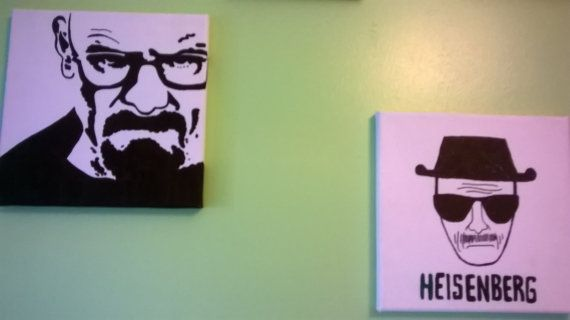 breaking bad canvas by hmdelights on Etsy