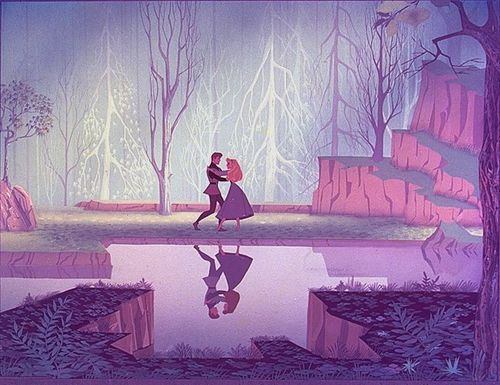 Sleeping Beauty. Art by Eyvind Earle.