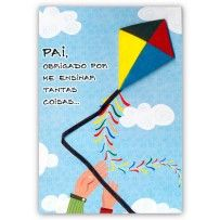 Cartão Artesanal Pai Pipa