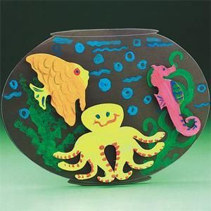 3-D Fishbowls Craft Kit (makes 36) 25.99 could do any thematic felt board