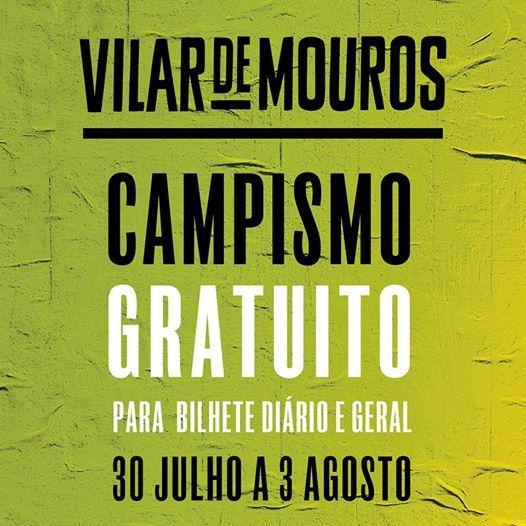 Campismo gratuito para bilhete diário e passe geral.  #festival #vilarmouros #campismo #acampar #arockardesde1971