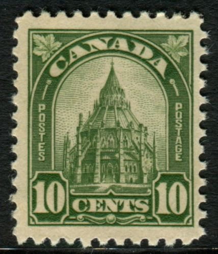 The Parliamentary Library is featured on this stamp issue from 1930.