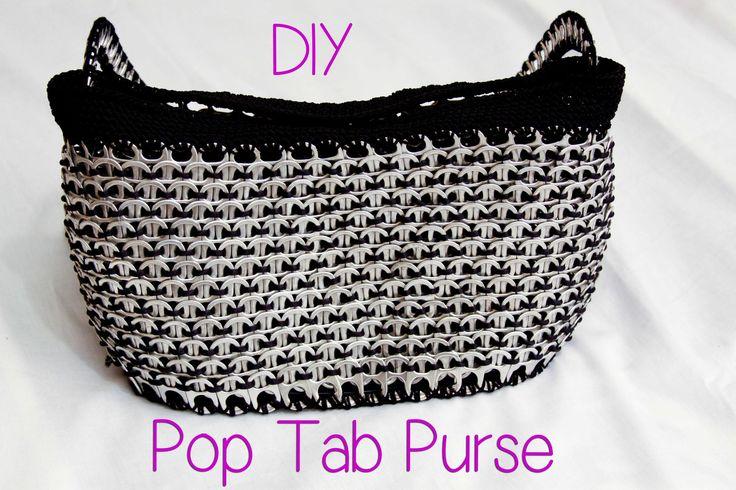 DIY: Aluminum Pop Tab Handbag part 1