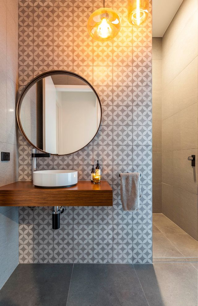 Powder room contemporary design powder room contem…