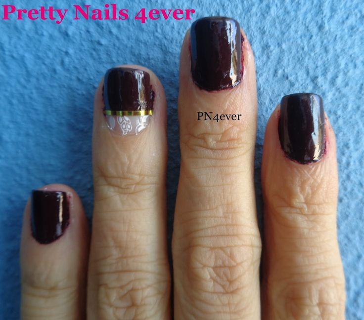 Pretty Nails 4ever - Unhas Midnight Rouge