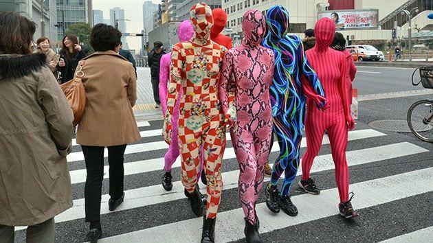 Zentai, la extraña moda que viene de Japón