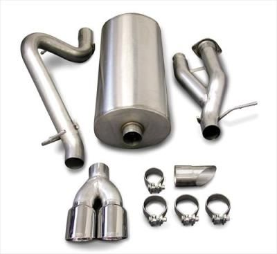 2005 HUMMER H2 Corsa Performance Exhaust Sport Cat-Back Exhaust System: Sport Cat-Back Exhaust… #AutoParts #CarParts #Cars #Automobiles