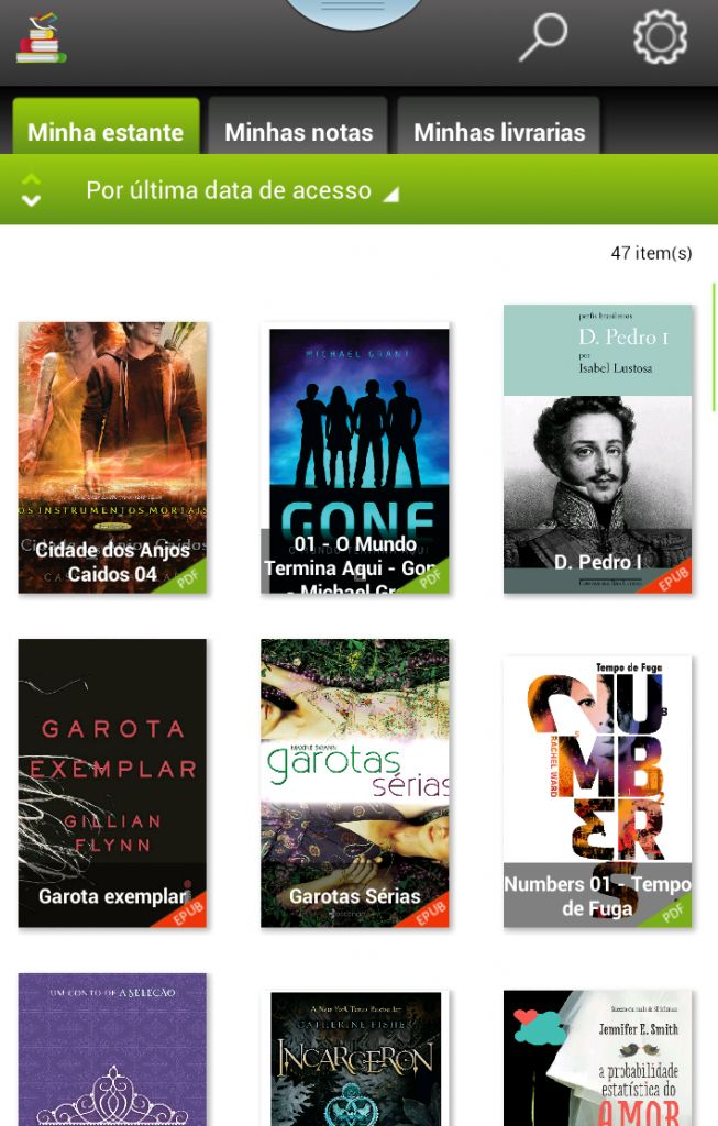 Leitor ebooks android: Mantano Reader Free