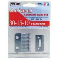 WAHL ADJUSTABLE 10-15-30 BLADE (Catalog Category: Clippers & Accessories:CLIPPERS, BLADES, SCISSORS,ETC) by Wahl. $37.68. Provides #10 cut for general trimming and #30 cut for show trims on horses and dogs.. Size: /Color:. #30-15-10 satin chrome adjustable blade.. This listing is for a quantity of 1 EA . Meaning with this purchase you will be receiving a total of 1 .. #30-15-10 adjustable blade set. Fits basic pet clipper, u-clip, show pro, iron horse, kennel pro and stable ...