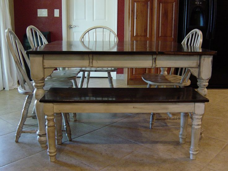 Distressed Kitchen Tables - Small Kitchen Pantry Ideas Check more at http://www.entropiads.com/distressed-kitchen-tables/