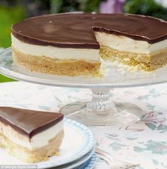Mary Berry Millionaires Shortbread Cheesecake! #PinthePerfect #MaryBerry