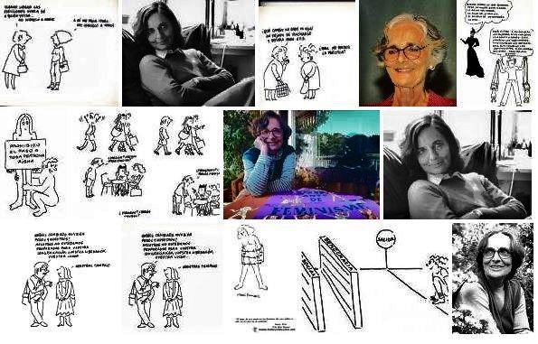 Núria Pompeia  (Barcelona, abril, 1931- 26 de diciembre de 2016   Dibujante, humorista gráfica y periodista. Pionera del movimiento d...