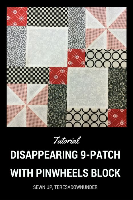 Disappearing 9 patch charm pack