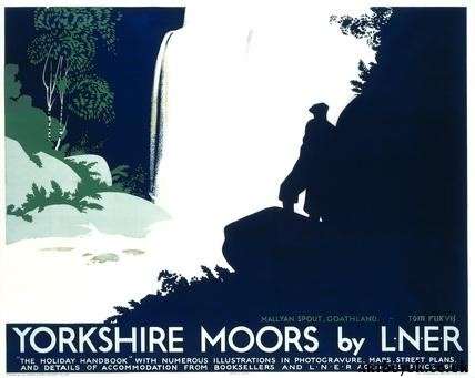 The Yorkshire Moors -  L.N.E.R. Poster, Tom Purvis