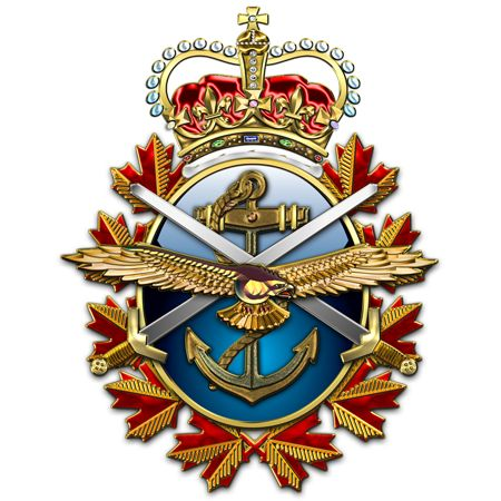 canadian armed forces | Military Insignia 3D : Who designed the Canadian Armed Forces Badge?