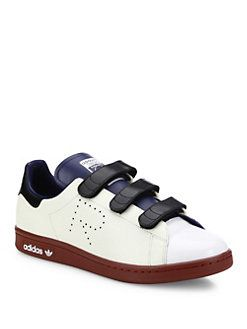 adidas by Raf Simons - Adidas By Raf Simons Stan Smith Multicolor Leather Sneakers
