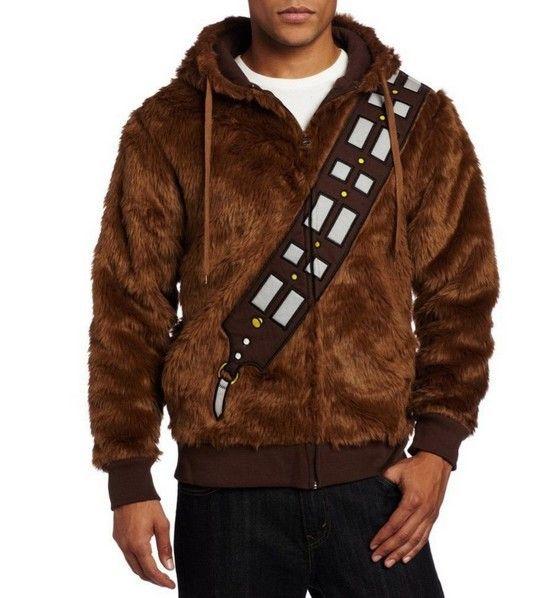 Звездные войны чубакка пушистый полиэстер балахон пальто куртки для мужчины фильм хэллоуин косплей костюмкупить в магазине CostumeBuyнаAliExpress