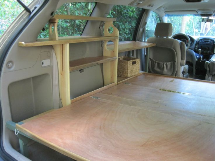 The Grove Guy: TOYOTA VAN CONVERSION