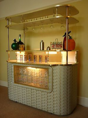 VINTAGE Cocktail Bar Home Drinks Cabinet RETRO 50's 60's 70's