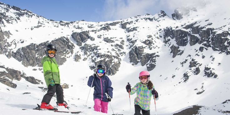 Ski Australia and New Zealand with kids