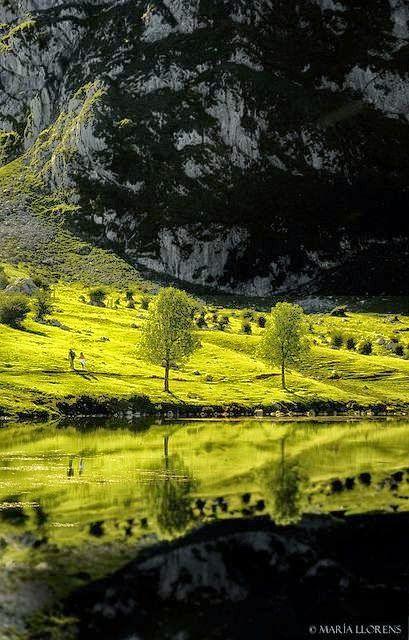 Lago de covadonga. Asturias