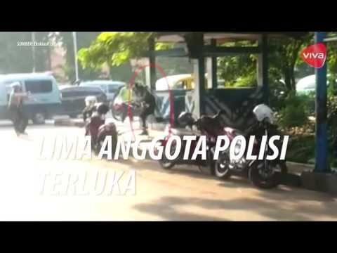DETIK DETIK PENYERANGAN POLISI DI TANGERANG (VIDEO AMATIR)
