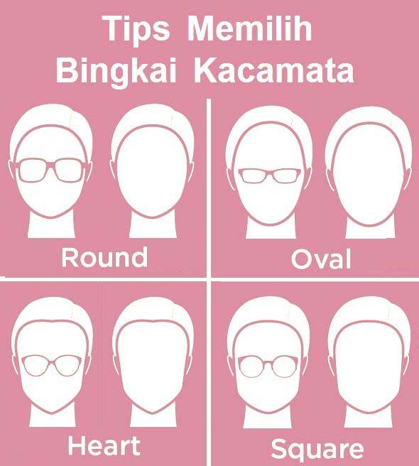 Tips Memilih Kacamata sesuai Bentuk Wajah