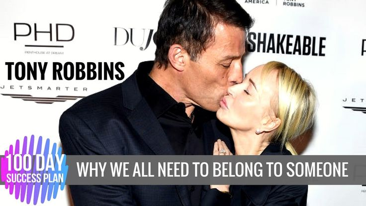 Tony Robbins: Why We All Need to Belong to Someone (Tony Robbins Relatio...