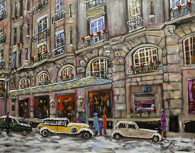 Hotel Le Bristol, Paris