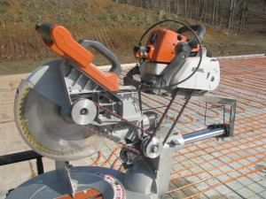 Who Wrote the Best Caption for This Very Strange Saw?   Tools of the Trade   Home-Made and Modified Tools, Miter Saws, Saws, Stationary Tools, Ridgid