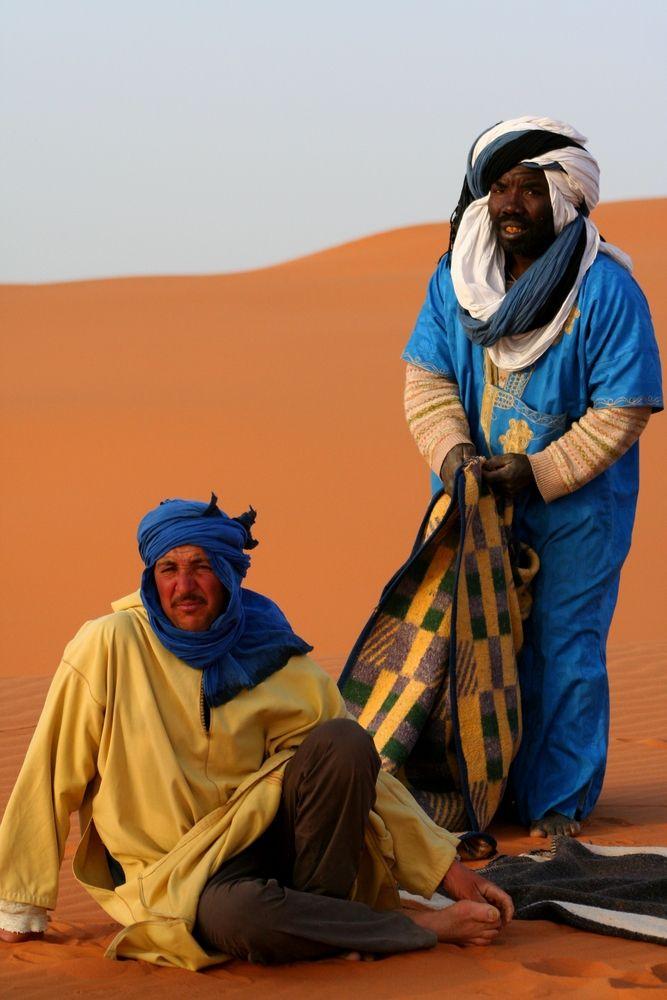 Βεδουίνοι στην έρημο Σαχάρα