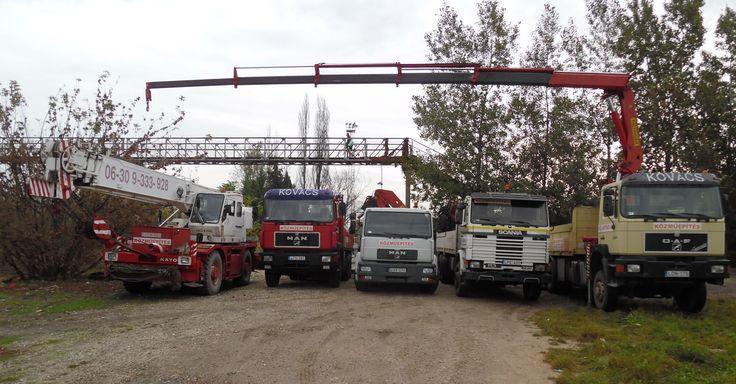 Megbízható gépparkunk a rendelkezésére áll!  http://www.kovacsdaru.hu/