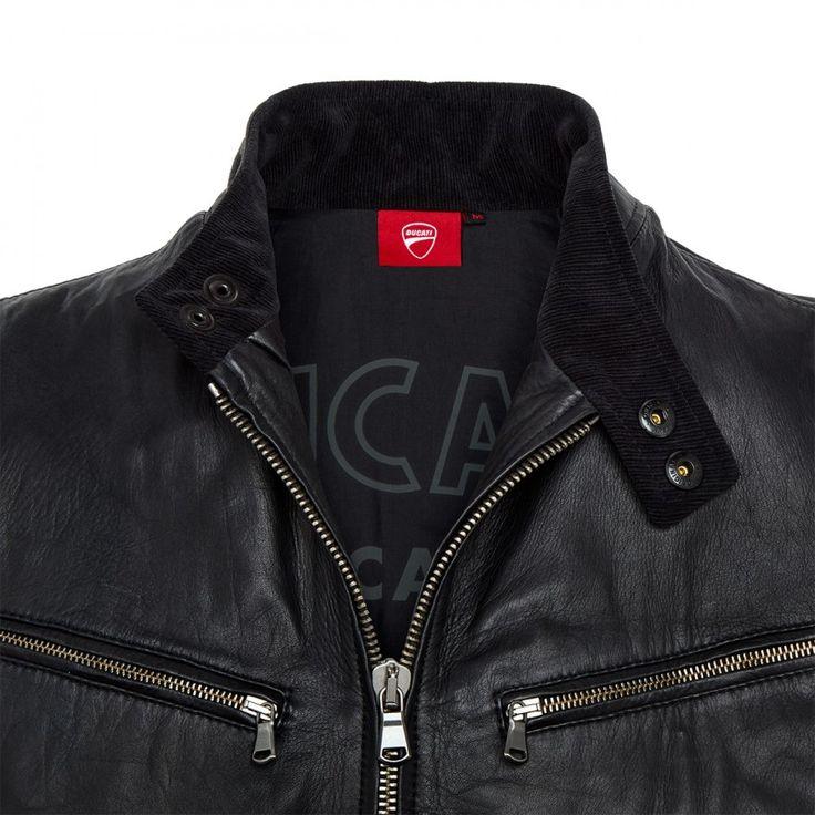 Vintage leather jacket | Ducati Shop Online