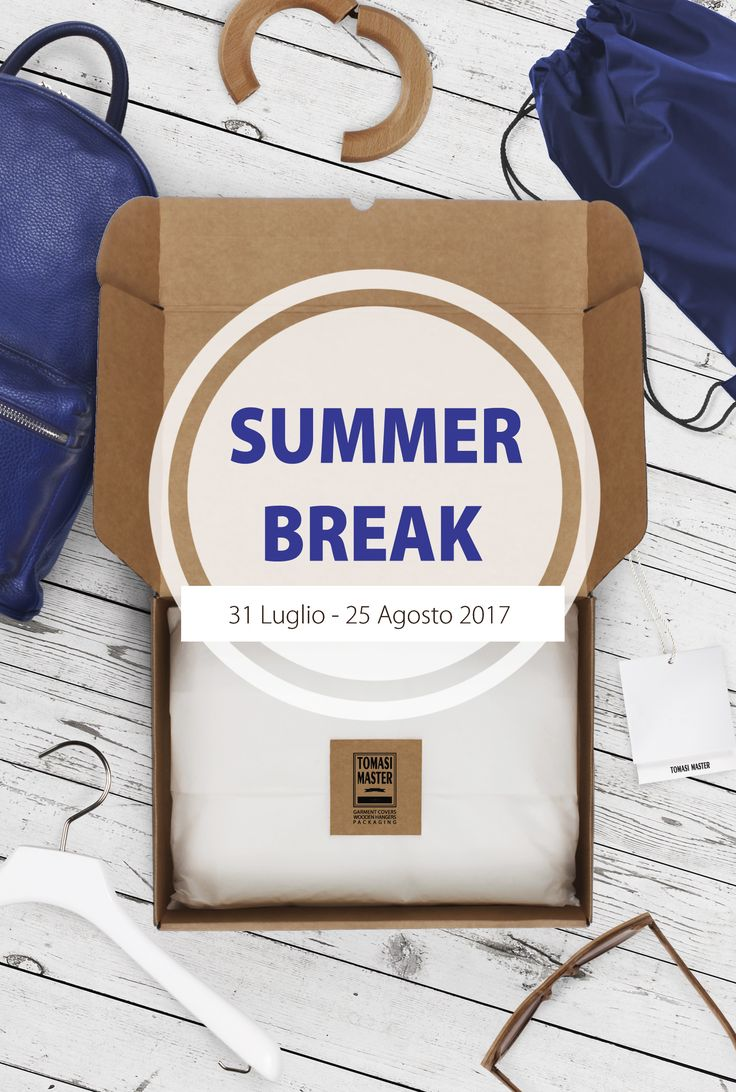 Have a nice Holiday!! #summer #break #TomasiMaster #Holiday #packaging