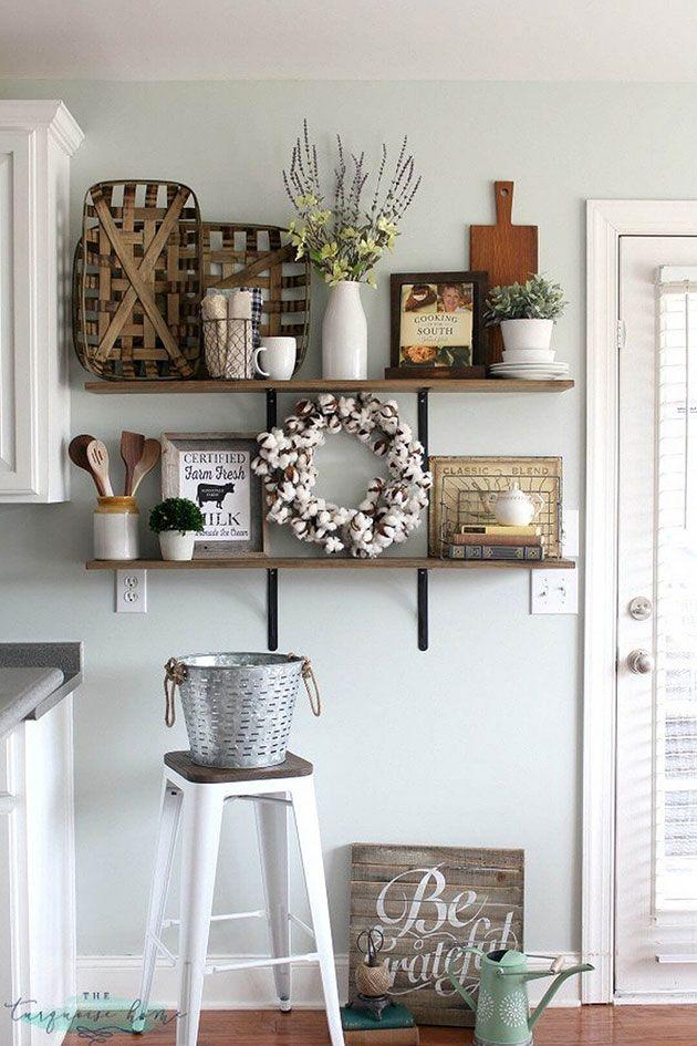 25 ideas para decorar la pared de la cocina decoraci n - Decorar paredes cocina ...