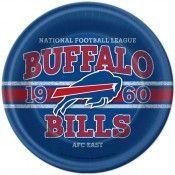NFL Buffalo Bills Lunch Plates (8)