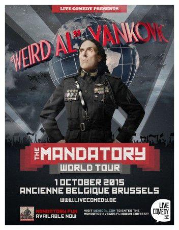 'Weird Al Yankovic' op 1 oktober in Ancienne Belgique